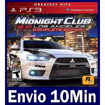 Midnight Club Los Angeles Complete Edition (+ Dlc) Ps3 Psn