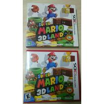 Super Mário 3d Land Nacional Com Luva Completo Nintendo 3ds