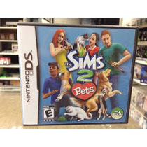 The Sims 2 Pets Nds 3ds 2ds Americano Completo Original !
