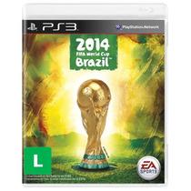 Jogo Game Copa Do Mundo Da Fifa 2014 - Ps3 Original Usado