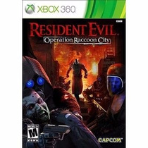 Resident Evil Operation Raccoon City Xbox 360
