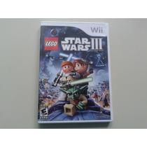 Lego Star Wars 3 The Clone Wars Orig Americano Para Wii