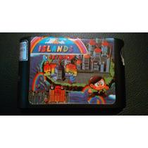 Rainbow Islands Extra Jogo Raro Para Sega Genesis Mega Drive