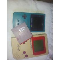 Vendo Um Game Boy Color Com Um Cartucho De 105 Jogos