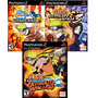 Jogos Naruto Play Station 2 (kit 3 Jogos Ps2) Frete Grátis