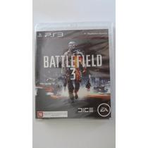 Battlefield 3 Ps3 Mídia Física - Novo E Lacrado