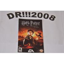 Manual Harry Potter Goblet Fire Original P/ Playstation 2!!!