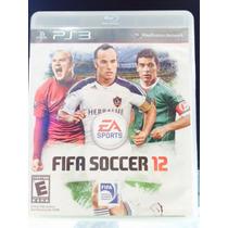 Jogo Fifa Soccer 12 Playstation 3, Original, Novo, Lacrado