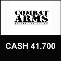 Combat Arms - Cartão De 41.700 Cash - Level Up - Imediato
