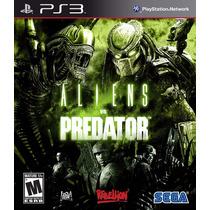 Aliens Vs Predator Jogo Ps3 Usado