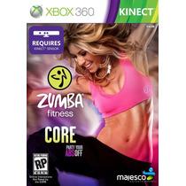 Jogo Zumba Fitness: Core - Xbox 360 Konami