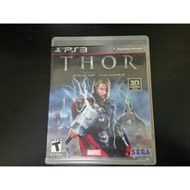 Thor God Of Thunder ( Jogo Original Ps3 Mídia Física )