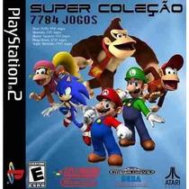 Super Coleção 7784 Jogos Ps2