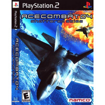 Ace Combat Collections 4-5-6 Playstation 2 - Frete Gratis.