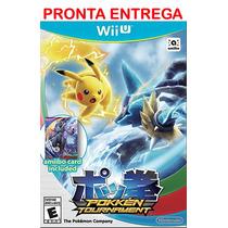 Pokken Tournament Wii U + Amiibo Card Nintendo Wiiu Lacrado