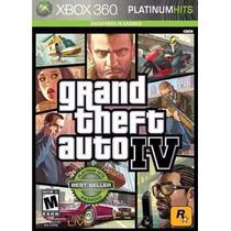 Gta Grand Theft Auto Iv Xbox 360 Original Lacrado A5433