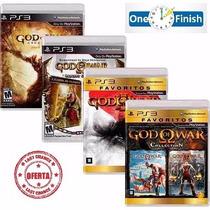 Coleção Completa God Of War - 6 Jogos Da Saga - Ps3