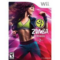 Jogo Novo Zumba Fitness 2 Nintendo Wii + Cinta P/ Wii Remote