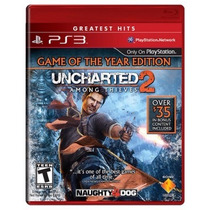 Jogo Ps3 Uncharted 2: Among Thieves Novo *frete Grátis*