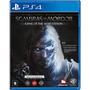 Terra Média: Sombras De Mordor - Game Of The Year Goty - Ps4