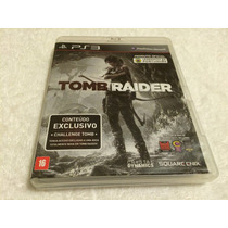 Tomb Raider(sony Playstation 3, 2013)c/legendas Em Portugues