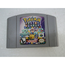 Fita Pokemon Puzzle League - Nintendo 64 - N64