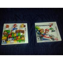 Mario Kart 7 + Super Mario 3d Land Original Nintendo 3ds