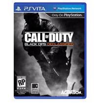 Call Of Duty Black Ops Declassified - Ps Vita Psvita E-sedex