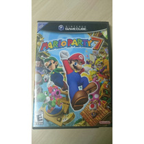 Mario Party 7 Original Game Cube Impecável