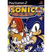 Sonic Mega Collection Plus Ps2 Patch - Frete Só 6,00