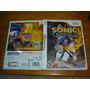 Nintendo Wii Sonic The Secret Rings Midia Original Raro!