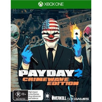 Jogo Payday 2 Crimewave Edition Xbox One Xone Lacrado Novo