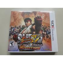 Nintendo 3ds - Super Street Fighter Iv 3d Edition Original