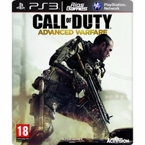 Call Of Duty Advanced Warfare Cod Ps3 100% Ptbr - Riosgames
