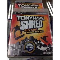 Tony Hawk Shred Ps3 Lacrado !