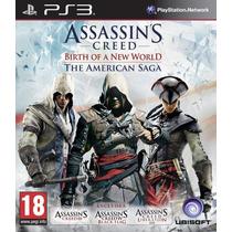 Jogos Assassins Creed The American Saga Ps3 Frete Grátis