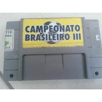 Futebol Brasileiro 96 Super Nintendo Snes