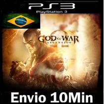 God Of War Ascension - Original Cod Psn Ps3 - Envio Imediato
