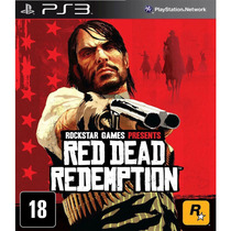 Red Dead Redemption Ps3 Mídia Física Original Lacrado