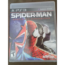 Game Ps3 Spider-man - Shattered Dimensions