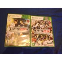 Pes 2013 E 2014 Original- Xbox 360