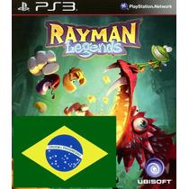 Rayman Legends Portugues Ps3 Psn - Midia Digital