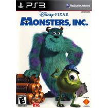 Monsters, Inc. Ps3 Psn Midia Digital Original