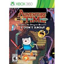 Adventure Time Xbox 360 - Jogo A Hora De Aventura