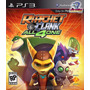 Jogo Ps3 - Ratchet & Clank - All 4 One - Novo