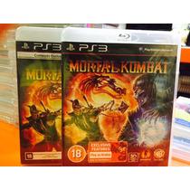 Jogo Mortal Kombat Playstation 3, Mídia Original Fisica,