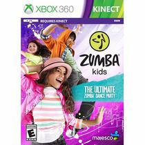 Zumba Kids Para Kinect Xbox 360 Novo Original Lacrado