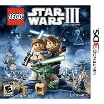 Jogo 3ds Lego Star Wars Iii: The Clone Wars Lacrado