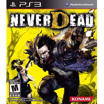 Never Dead Ps3 Midia Fisica Semi-novo
