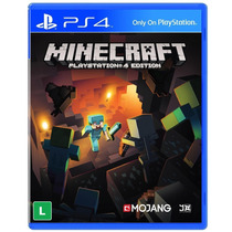Jogo Minecraft Para Playstation 4 Original Lacrado
